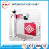 gravador do laser da fibra 50W para a tosquiadeira do dinheiro