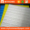 Fácil instalar o papel de parede autoadesivo para a decoração Home