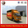 Volledige Mobiele LEIDENE van Foton Aoling van het Scherm van de Kleur Vrachtwagen voor OpenluchtReclame