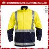 Vêtements de travail r3fléchissants brodés par norme ANSI de sûreté de coton (ELTHJC-507)