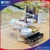 Caja de almacenamiento de acrílico con cajones