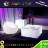 Presidenza del cubo illuminata giardino variopinto della mobilia del LED