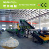 Máquina de reciclaje plástica de Wase de la película del invernadero del HDPE para la venta