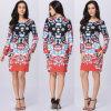 Платье Abaya мантии Dashiki Kaftan африканских женщин причудливый (A979)