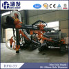 穴の掘削装置装置、トラック掘削装置を固定する多機能のクローラーDTH