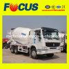 Carros del concreto preparado de LHD y de Rhd Sinotruck 8m3 HOWO 6X4 con precio de fábrica