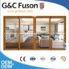 Aluminiumrahmen-schiebendes Glas-Türen