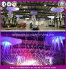 Fiori gonfiabili della decorazione del soffitto della fase della decorazione di Fatanstic/fiore gonfiabile d'attaccatura con il LED per il partito