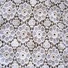 Forma Chemical Cotton Lace Fabric C6113 para Garment