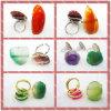 نمط مجوهرات ينظم حلقة, حجر كريم عقد مجوهرات حلقة, نمط حجارة مجوهرات حلقة (3283)