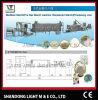 Deantured Starch Processus Ligne (LT65, LT75, LT85)