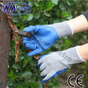 Handschoenen van het Werk van Nmsafety de Goedkope Latex Met een laag bedekte