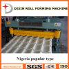 Tipo comum 1000 telha de Dx Nigéria do esmalte que faz a máquina