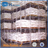 Lager-Speicher-Ladeplatten-stapelnde Stahlzahnstange/Racking