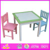 Hot New Product for 2015 Dining Table and Chair, Fashion Wooden Table and Chair Set, High Quality Dining Table and Chair W08g104