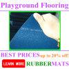 Sosta/cortile/pavimentazione di gomma delle mattonelle corte di sport