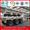 중국 Trailer Truck Semi Trailer 3 Axle 40ft Flatbed Trailer