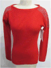 50/35/15 Pes/acrylic/nylon Fashion Sweater for Ladies