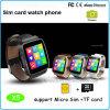 SIMのカードのMtk6261システムが付いているスマートな腕時計の電話(X6)