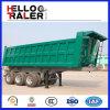 고품질 세 배 차축 트레일러 60 톤 반 팁 주는 사람