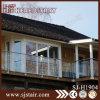 Barandilla montada en la pared del acero inoxidable del balcón de Foshan con el vidrio (SJ-H1904)