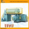 Bloco da grande capacidade que faz a máquina de fatura de tijolo da maquinaria EV60A Full Auto