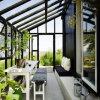 Quartos de Sun de vidro do dobro customizável super da isolação térmica da qualidade Baixos-e para a venda (TS-546)