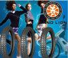 Talla popular de Kenia para el neumático y los tubos interiores de la motocicleta