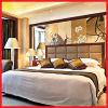 حار بيع جناح أثاث غرف النوم الحديثة للفندق، شقة