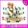 Горячий новый продукт для Kids 2015 Toy Mini Park Toy, высокого качества Chidren Wooden Toy Park, автомобильной стоянки Toy W04b008 Hot Sale смешной Wooden