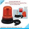 PC Cover 80PCS 5050 SMD DEL Bulb Rotating /Strobe Warning Light (TBL 57) de Magnetic Base de Ce-Mark de 12V-48V Amber Color IP56