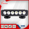 60 Watt 12 Inch Single-Rij Gebogen LED off-Road Light Bar