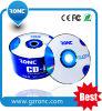 Eine Wiederverwertung ordnen, die materielle gute unbelegte CD-R mit Paket Shrinkwrap