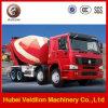 Camion del miscelatore di cemento di Shacman 8*4