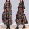 Islamic all'ingrosso Muslim Women Abaya Kaftan con Dresses Suits