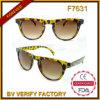 Солнечные очки способа конструкции раковины черепахи самого последнего высокого качества F7631 классицистические