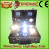 Hot novo Sell Aluminum Demo Caso para Test e Display The Quality do diodo emissor de luz Bulb Show Caso de Lighting