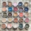 El solo polvo mate de Colorpop del sombreador de ojos bonito del maquillaje se ruboriza los altos cosméticos nacarados impermeables durables