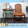 가정 가구 옥외 등나무 고리 버들 세공 식사 의자