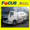 具体的なミキサーのトラック、8m3トラックのミキサーをロードしているISO標準の自己