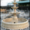 De Gouden Marmeren Fontein van de woestijn voor Decoratie mf-1032 van het Huis