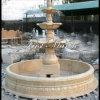 Fontana di marmo Mf-1032 dell'oro del deserto della fontana del granito della fontana della pietra della fontana