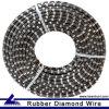 Wire Saw Machine를 위한 치열한 Stone Diamond Rope