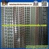 Rideau en chaîne de talon de bille en acier en métal pour la maille décorative
