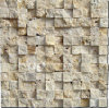 Mosaico beige del travertino di Lint1-3D