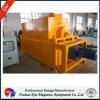 Máquina magnética em forma de caixa do separador da areia de ferro do cilindro do pó da multa da indústria plástica