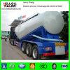 60cbmバルクセメントの粉の乾燥したBulkerタンクトラックのトレーラー