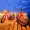 容易な乗馬500W 26inchの脂肪質のタイヤ浜Eのバイク