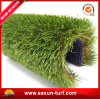 Alfombra artificial plástica barata de la hierba del jardín del paisaje