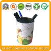 Zinnblech-verpackenzinn-Kasten für Penholder, Metallbleistift-Vase